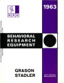 Behavioral Research Equipment
