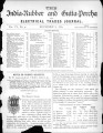 India Rubber and Gutta Percha and Electrical Trades Journal. Vol. 6, No. 4. (Nov 8, 1889)