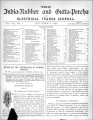 India Rubber and Gutta Percha and Electrical Trades Journal. Vol. 7, No. 2. (Oct. 8, 1890).