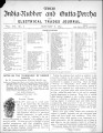 India Rubber and Gutta Percha and Electrical Trades Journal. Vol. 7, No. 6. (Jan 8, 1891)