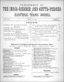 India Rubber and Gutta Percha and Electrical Trades Journal. Supplement. No. 60. (Jul 8, 1891)