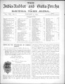 India Rubber and Gutta Percha and Electrical Trades Journal. Vol. 8, No. 6. (Jan 8, 1892)