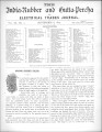 India Rubber and Gutta Percha and Electrical Trades Journal. Vol. 9. No. 2. (Sep 8, 1892)