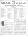 India Rubber and Gutta Percha and Electrical Trades Journal. Vol. 9, No. 5. (Dec 8, 1892)