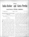 India Rubber and Gutta Percha and Electrical Trades Journal. Vol. 14, No. 4. (Aug 27, 1897)