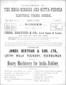 India Rubber and Gutta Percha and Electrical Trades Journal. Supplement. Vol. 14, No. 6. (Sep 10,...