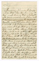 Letter 1864 July 19, Monocacy Junction, Maryland to Marie Caroline McCollam, Uhrichsville, Ohio