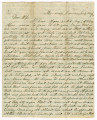 Letter 1864 July 29, Monocacy Junction, Maryland to Marie Caroline McCollam, Uhrichsville, Ohio