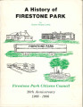 A History of Firestone Park by Clarice Finley Lewis